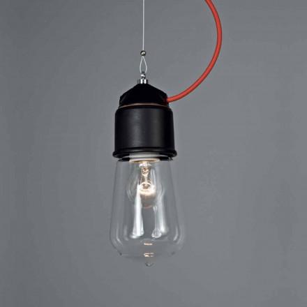 Toscot Novecento lampada a sospensione con rosone
