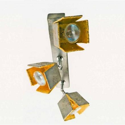 Toscot Apuane reglette 3 luci direzionabili made in Toscana