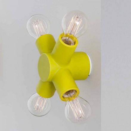 Toscot Traffic lampada a parete in ceramica prodotta in Toscana