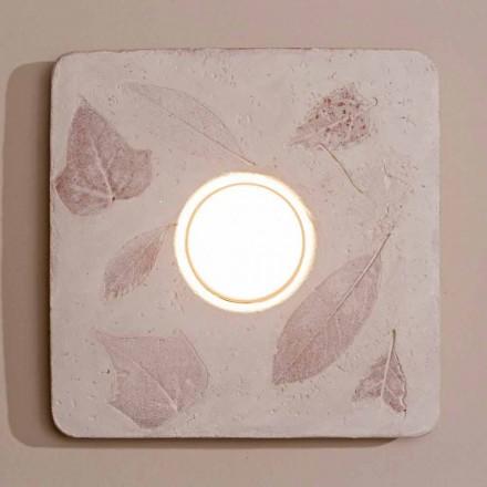 Toscot Vivaldi lampada da parete in terracotta made in Italy