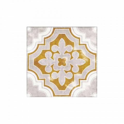 Tovaglietta Americana in Pvc e Poliestere Colorata Moderna, 6 Pezzi - Dorado