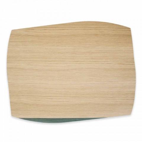 Tovaglietta Moderna Rettangolare in Legno Rovere Made in Italy  - Abramo