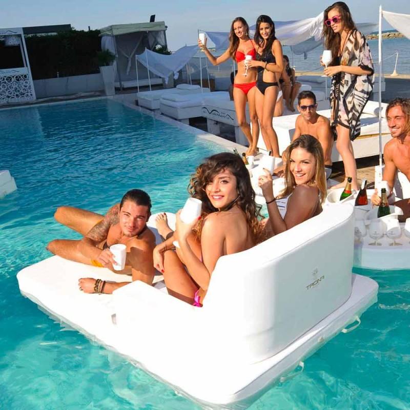 Trona Magnum Luxury poltrona galleggiante a doppia seduta ...