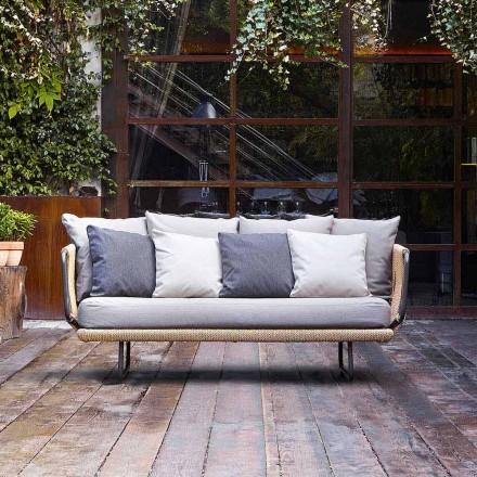 Varaschin Babylon divano a 2 posti da giardino dal design moderno