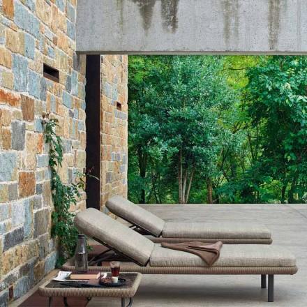 Varaschin Babylon lettino da giardino o da interno, design moderno