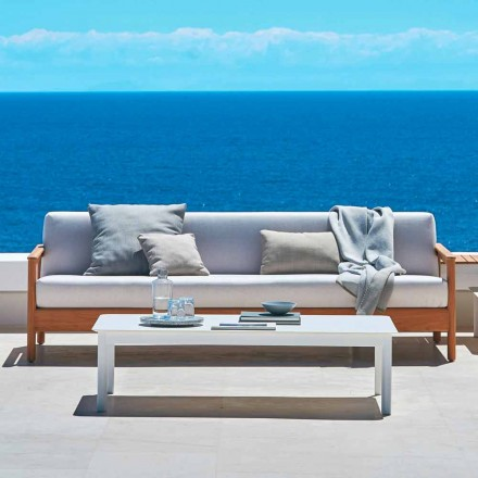 Varaschin divani da giardino di design moderno per for Divano esterno legno