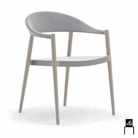 Varaschin Clever Poltroncina Da Giardino Design Moderno 6 Pezzi