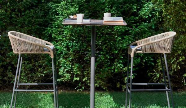 Varaschin cricket sgabello alto da giardino design moderno pezzi