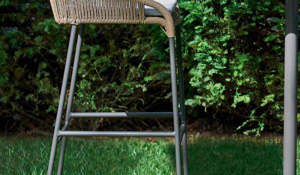 Varaschin cricket sgabello da giardino moderno in alluminio pezzi