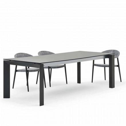Varaschin Dolmen tavolo da esterno design moderno 240x100 cm