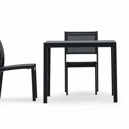 Varaschin Victor tavolo da pranzo da giardino o interno,design moderno