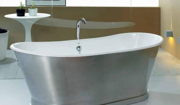 Vasca Da Bagno In Ghisa Da Incasso : Vasca da bagno da appoggio a terra in ghisa romeo