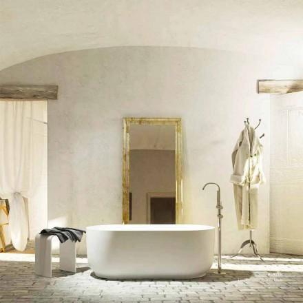 Vasca da bagno freestanding design moderno prodotta in Italia Zollino
