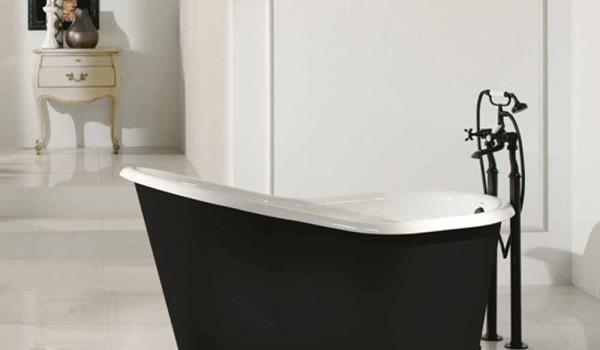 Vasca Bagno Freestanding : Vasca da bagno freestanding di design in ghisa verniciata old