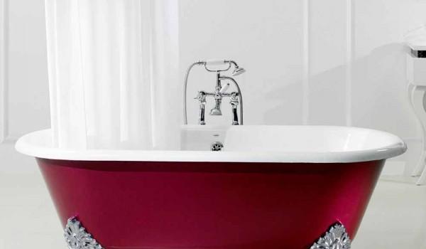 Vasca Da Bagno Ghisa : Vasca da bagno in ghisa classica ashford cm bianco con piedini