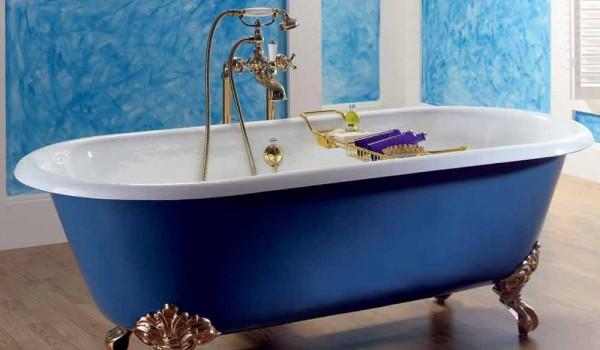 Vasca Da Bagno Con Piedini : Vasca da bagno freestanding in ghisa verniciata con piedini diane