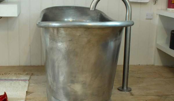 Vasca Da Bagno Rame : Vasca da bagno freestanding in rame con finitura in ferro bianco julia