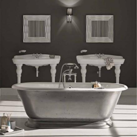 Vasca da bagno in ghisa di design con finitura lucida pierce - Vasca da bagno in ghisa ...