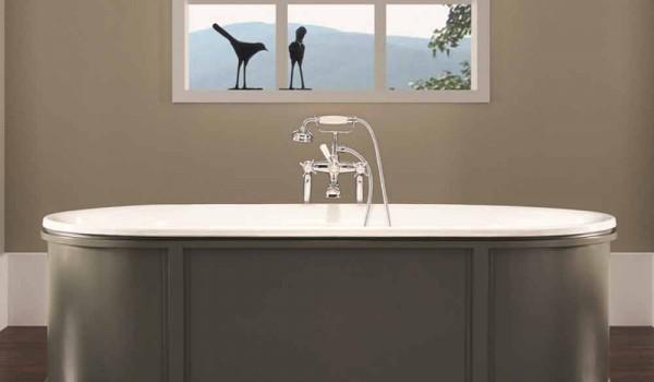 Vasca Da Bagno Ghisa Smaltata : Vasca da bagno in ghisa smaltata e verniciata ashley