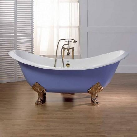 Vasche da bagno freestanding viadurini - Vasca da bagno in ghisa ...