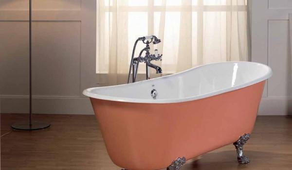 Vasca Da Bagno Con Piedini : Vasca da bagno in ghisa verniciata con piedini melissa
