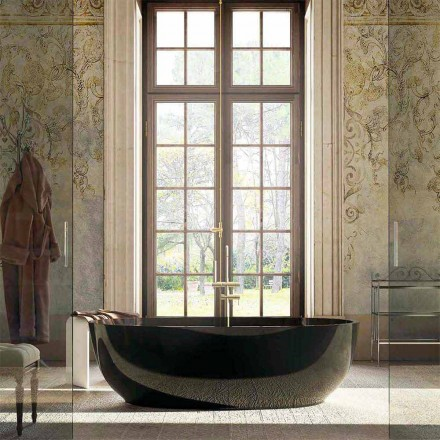 Vasca da bagno freestanding di design Fabriano, made in Italy
