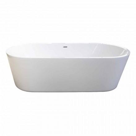 Vasca freestanding bianca moderna di design 1785x840mm Nicole 2