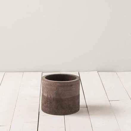 Vaso in terracotta per esterno,artigianale H 18cm, Tirrenia - Toscot