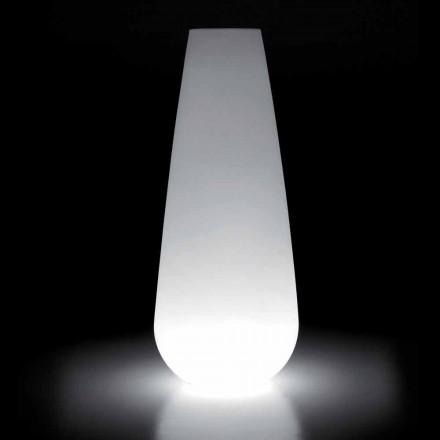 Vaso Luminoso per Esterno di Design in Polietilene Made in Italy - Menea