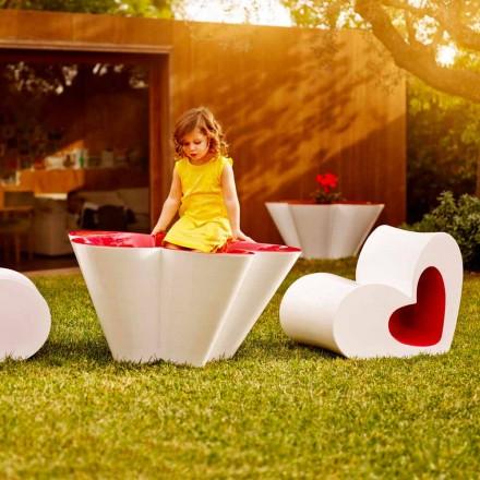 Vondom Agatha fioriera da esterno di design in polietilene colorato