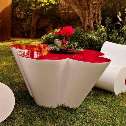 Vondom Agatha tavolino da esterno di design in polietilene colorato