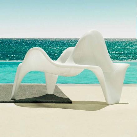 Vondom F3 poltrona da giardino in polietilene di design moderno