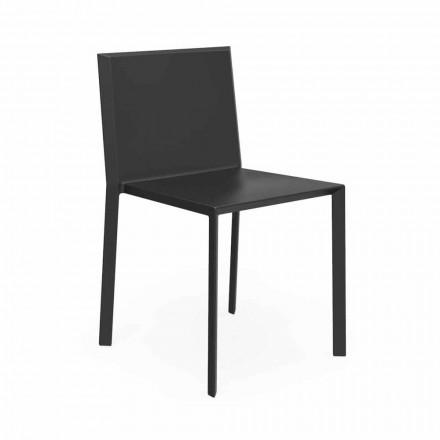 Vondom Quartz sedia da giardino impilabile di design moderno, 4 Pezzi