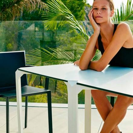 Vondom Quartz tavolo da giardino quadrato, design moderno, 2 Pezzi