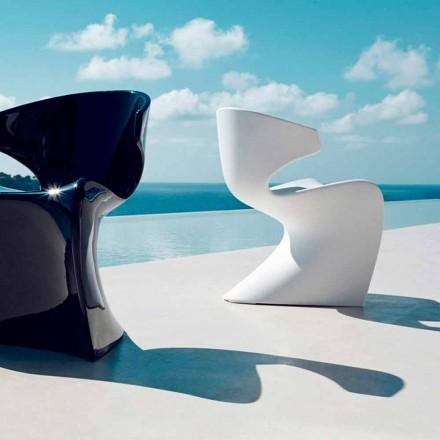 Vondom Wing sedia da giardino di design in polietilene L50xP56xH74 cm