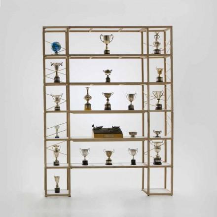 Libreria design componibile Zia Babele I Castelli 11 legno made Italy