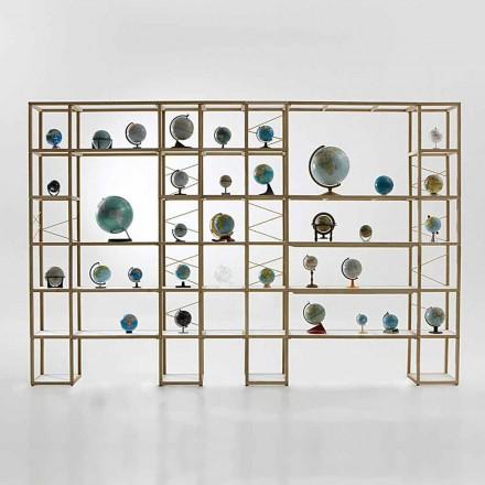 Libreria legno rovere Zia Babele I Castelli 14 componibile made Italy