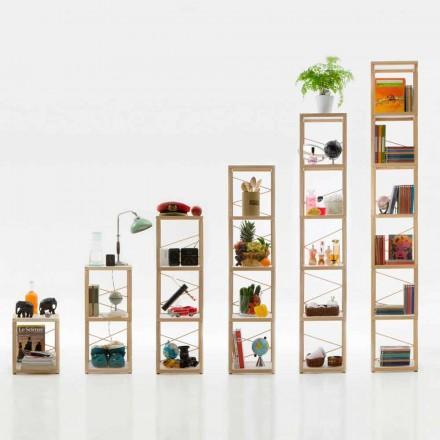 Libreria componibile design Zia Babele Le Torri