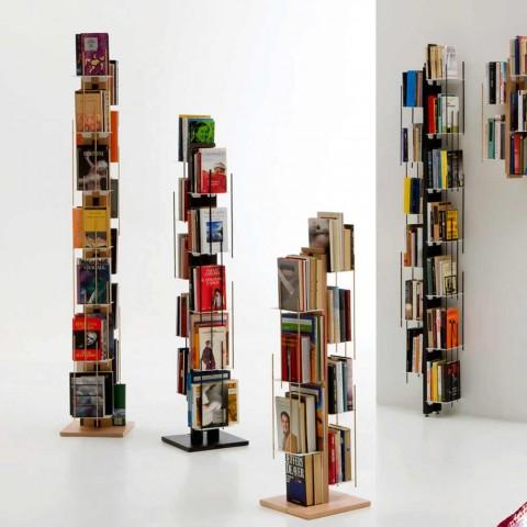 Libreria design moderno a colonna modello zia veronica for Oggettistica design moderno
